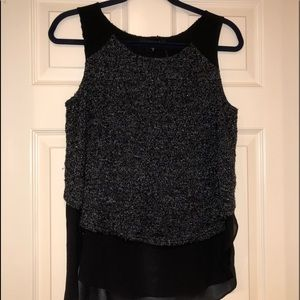 Sanctuary Top Tweed Size Small